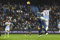 """Foto /Filippo Rubin<br /> 26/12/2018 Ferrara (Italia)<br /> Sport Calcio<br /> Spal - Udinese - Campionato di calcio Serie A 2018/2019 - Stadio """"Paolo Mazza""""<br /> Nella foto: ANDREA PETAGNA (SPAL)<br /> <br /> Photo /Filippo Rubin<br /> December 26, 2018 Ferrara (Italy)<br /> Sport Soccer<br /> Spal vs Udinese - Italian Football Championship League A 2018/2019 - """"Paolo Mazza"""" Stadium <br /> In the pic: ANDREA PETAGNA (SPAL)"""
