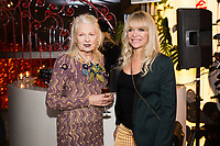 Vivienne Westwood and Jo Wood - SUSHISAMBA hosted a glittering party at their vibrant restaurant to celebrate the 10th birthday of Cool Earth, their charity partner that works to halt rainforest destruction. Celebrity guests included Dame Vivienne Westwood, Daisy Lowe, Leah Wood, Alexandra Richards, Julien Macdonald, Jasmine Hemsley, Jack Guinness and Savannah Miller. Guests ate a special menu devised by SUSHISAMBA's Chef Director Claudio Cardoso using ingredients sourced directly from the rainforest in select dishes including Seasonal Vegetable Tempura, El Topo and Welcome to the Rainforest dessert and drank Yuzu Gin Fizz and a special Ashaninka Forest Cocktail at the star studded party. Celebrity guests joined SUSHISAMBA CEO Shimon Bokovza and Cool Earth's Director Matthew Owen.