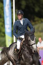 Snel Zoi, (NED), Elton John<br /> Finale 6 jarige springpaarden <br /> KWPN Paardendagen Ermelo 2015<br /> © Hippo Foto - Leanjo de Koster