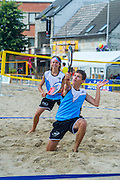 Niel. Beach Tennis op Rupel Beach
