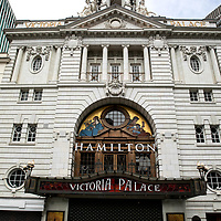 Hamilton at the Victoria Palace;<br />