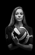 All-area volleyball player Kendall Bradley, of Jensen Beach High School, is photographed at the Stuart News offices on Tuesday, Dec. 16, 2014. (XAVIER MASCAREÑAS/TREASURE COAST NEWSPAPERS)