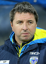 Warrington Wolves Head coach, Steve Price during the Betfred Super League match at the Kirklees Stadium, Huddersfield. PRESS ASSOCIATION Photo. Picture date: Thursday February 8, 2018. See PA story RUGBYL Huddersfield. Photo credit should read: Richard Sellers/PA Wire. RESTRICTIONS: Editorial use only. No commercial use. No false commercial association. No video emulation. No manipulation of images.