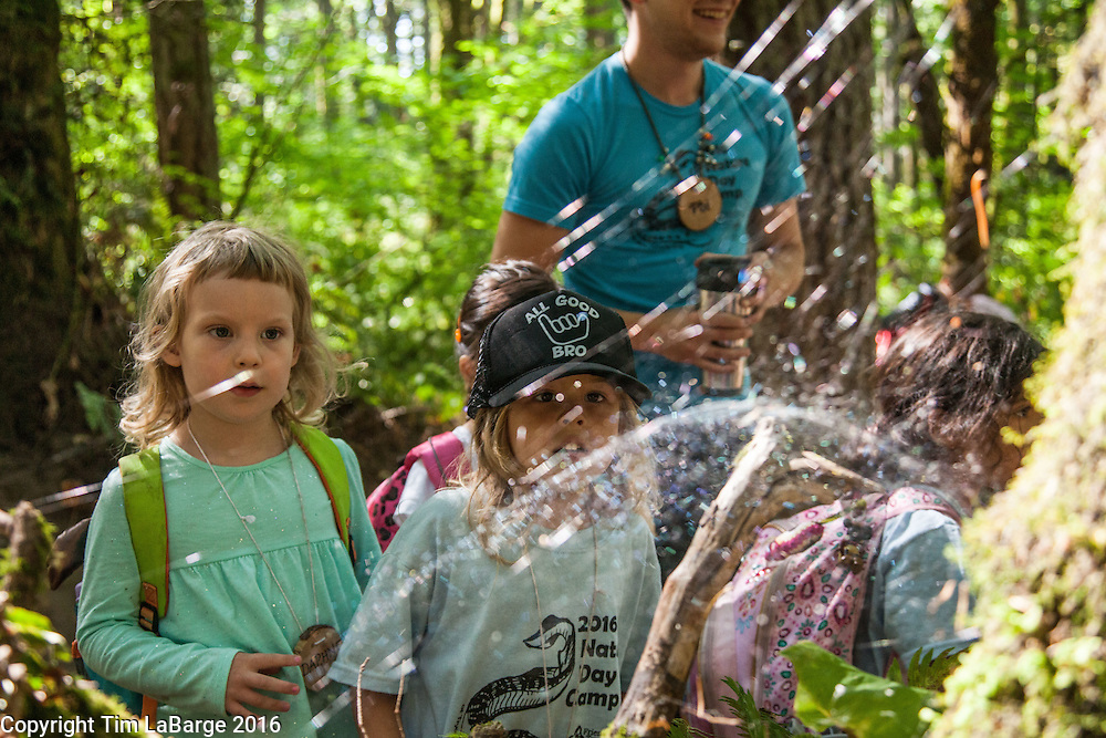 Day camps draw hundreds of children to Tryon throughout the summer.  Photo © Tim LaBarge 2016