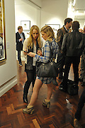 JENNY RUBY; RHIAN OWEN, Faces, Time and Places. Symbolic Collection & Ronnie Wood private view, Cork St. London. 8 November 2011.<br /> <br /> <br />  , -DO NOT ARCHIVE-© Copyright Photograph by Dafydd Jones. 248 Clapham Rd. London SW9 0PZ. Tel 0207 820 0771. www.dafjones.com.