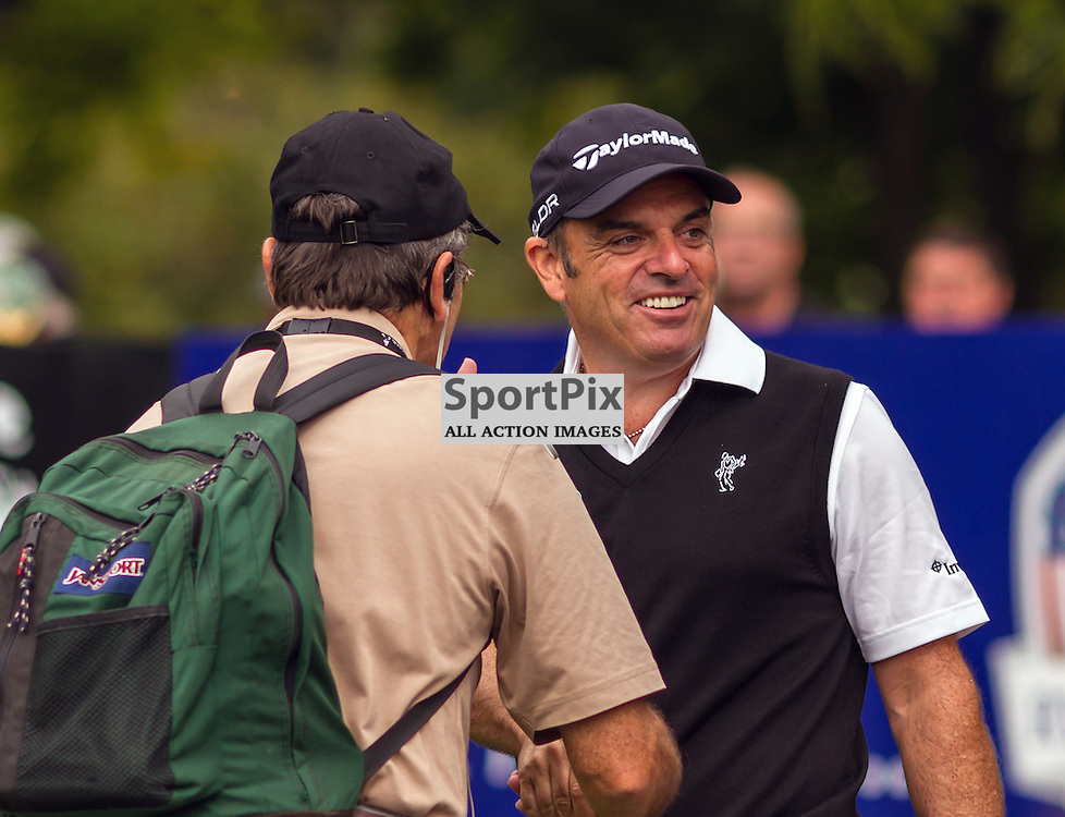 Ryder Cup captain Paul McGinley before his round at the Johnny Walker Championship at Glen Eagles (c) ROSS EAGLESHAM   Sportpix.eu