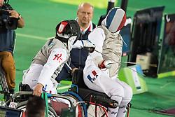 VALET Maxime, FRA, Fencing, Escrime, Foil, Medal Match, Bronze à Rio 2016 Paralympic Games, Brazil