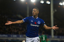 Richarlison of Everton celebrates after scoring his sides first goal - Mandatory by-line: Jack Phillips/JMP - 03/11/2018 - FOOTBALL - Goodison Park - Liverpool, England - Everton v Brighton and Hove Albion - English Premier League