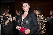 ROSSY DE PALMA; , Liberatum Cultural Honour for Francis Ford Coppola<br /> with Bulgari Hotel & Residences, London. 17 November 2014