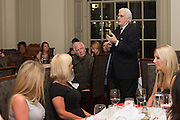 "Accomplished writer John F. Mariani is the special guest at the second installment of Davio's Celebrity Cookbook Author Series. Mr Mariano is the aurthor of ""How Italian Food Conquered The World."" The evening features a three course wine dinner including Braised Lamb Shank, Saffron Risotto, Natural Reduction and a six layer Lemoncello cake. Guests engaged freely with the author and received a personally signed copy the book."
