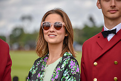Kelly Eastwood at the Cartier Queen's Cup Polo 2019 held at Guards Polo Club, Windsor, Berkshire. UK 16 June 2019. <br /> <br /> Photo by Dominic O'Neill/Desmond O'Neill Features Ltd.  +44(0)7092 235465  www.donfeatures.com