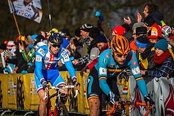 Zdenek STYBAR (40,CZE) 1st lap at Men UCI CX World Championships - Hoogerheide, The Netherlands - 2nd February 2014 - Photo by Pim Nijland / Peloton Photos