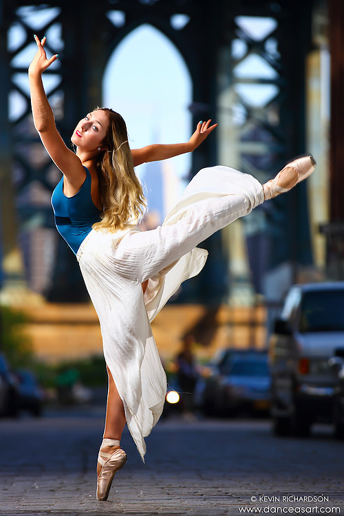 Dance As Art Photography Project- Dumbo Brooklyn, New York with dancer,en pointe with Mykaila Symes