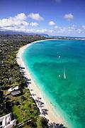 Kailua Beach,  Oahu, Hawaii.