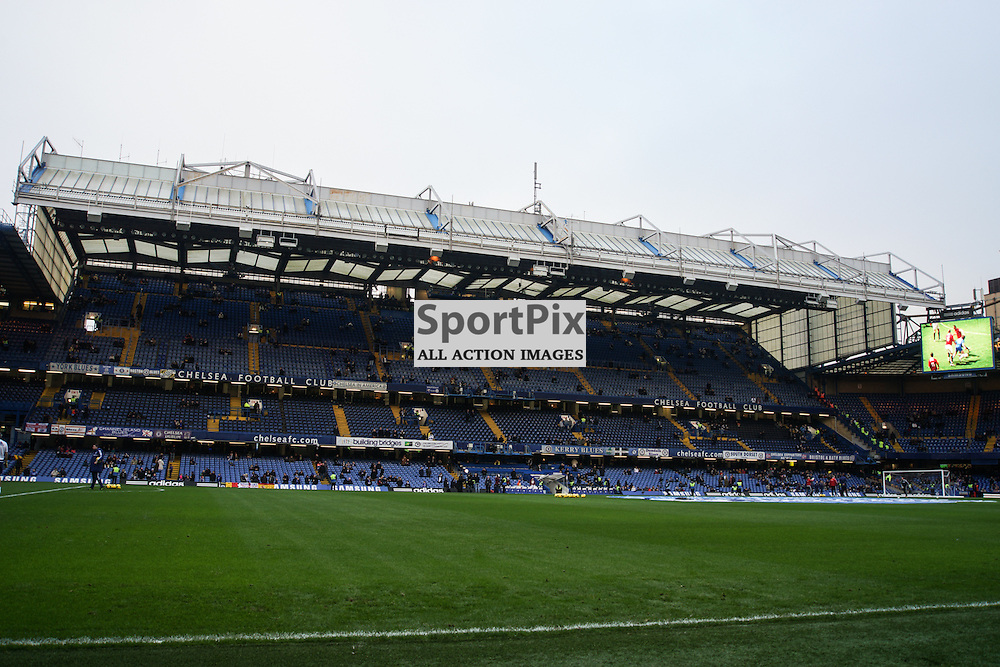 East Stand,  Chelsea v Swansea, Barclays Premier League, 26 December 2013