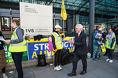 2019-05-21 BEIS PCS outsourced workers' strike
