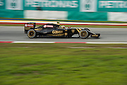 March 27-29, 2015: Malaysian Grand Prix - Pastor Maldonado, (VEN), Lotus