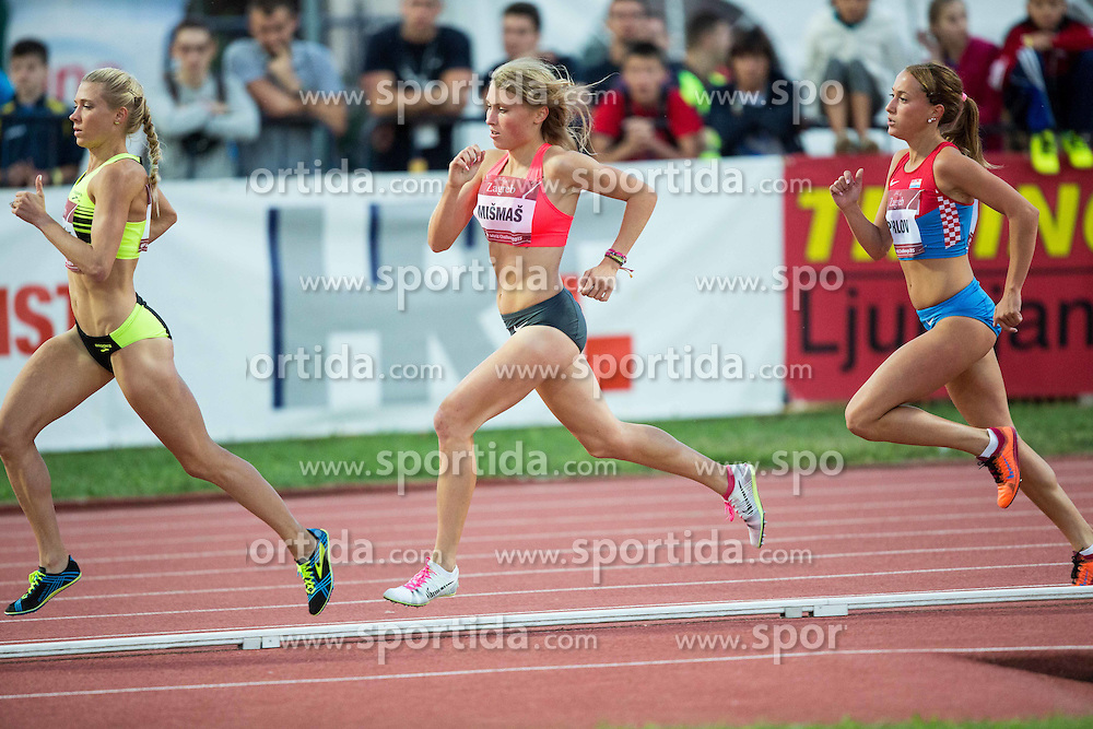 Marusa Mismas of Slovenia competes  in 3000m Women  during IAAF World Challenge Zagreb - The 65th Hanzekovic Memorial Meeting, on September 8, 2015, in Stadium Mladost, Zagreb, Croatia. Photo by Vid Ponikvar / Sportida