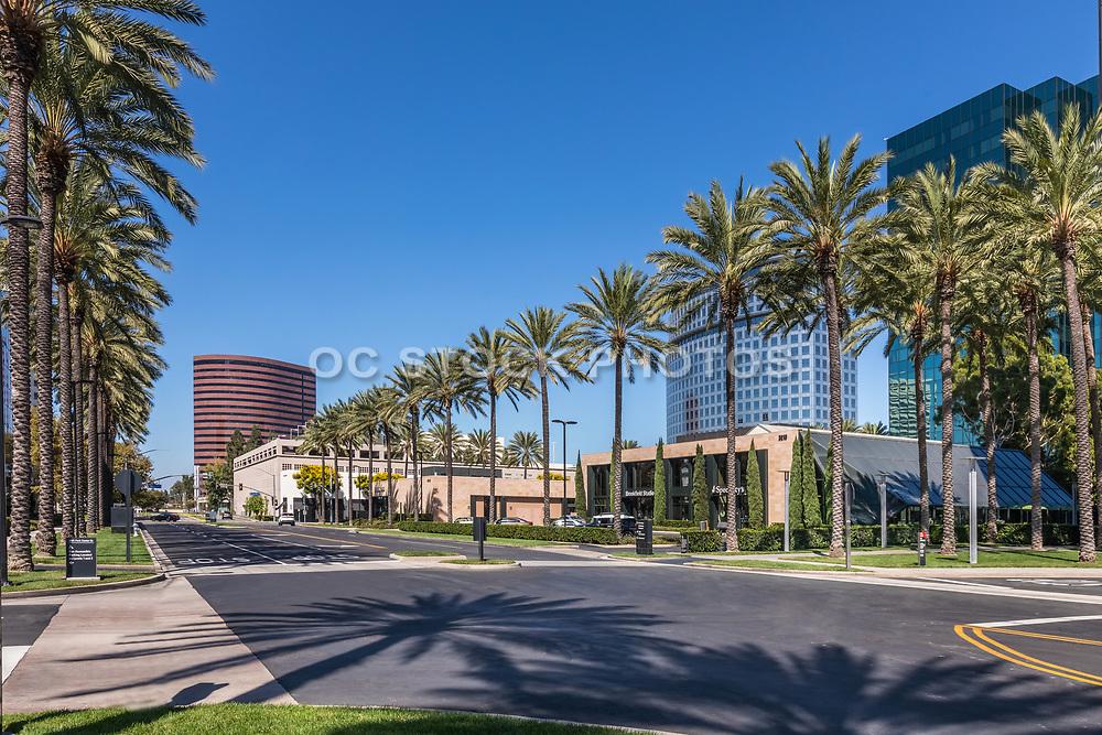 Park Center Drive Street Scene Costa Mesa