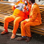 NLD/Den Haag/20170919 - Prinsjesdag 2017, Oranjefan