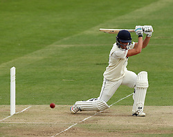 Durham's Michael Richardson hits through point - Photo mandatory by-line: Robbie Stephenson/JMP - Mobile: 07966 386802 - 03/05/2015 - SPORT - Football - London - Lords  - Middlesex CCC v Durham CCC - County Championship Division One