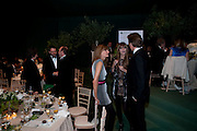 HAMISH JENKINSON; RUSSELL CROWE; KEVIN SPACEY; JEMIMA KHAN; MISCHA BARTON; DAMIAN ASPINALL.. The Ormeley dinner in aid of the Ecology Trust and the Aspinall Foundation. Ormeley Lodge. Richmond. London. 29 April 2009