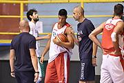 Simone Fontecchio<br /> Raduno Nazionale Maschile Senior<br /> Allenamento mattina<br /> Cagliari, 04/08/2017<br /> Foto Ciamillo-Castoria/ A. Scaroni