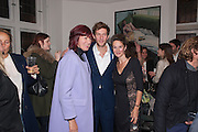 JANET STREET-PORTER; HENRY HUDSON; BETSY BELL, Hominidae- Henry Hudson private view. TJ Boulting. Riding House St. London. 20 November 2012.