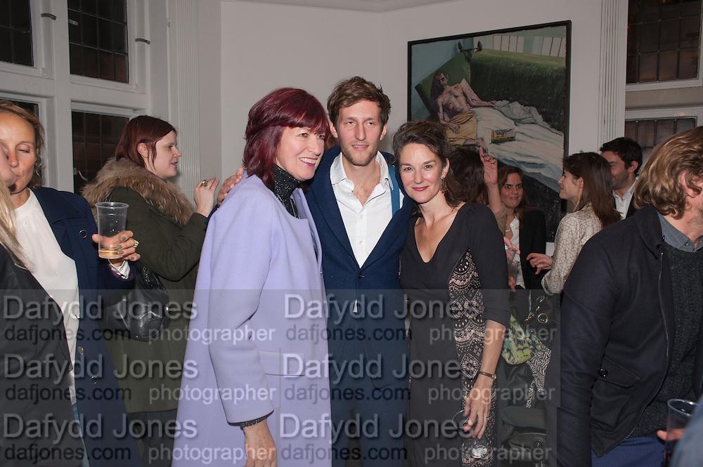 JANET STREET-PORTER; HENRY HUDSON; BETSY BELL, Hominidae- Henry Hudson private view. TJ Boulting. Riding House St. London. 20 November 2012.
