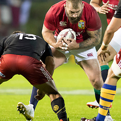 Joe Marler, Toll Stadium, Whangarei game 1 of the British and Irish Lions 2017 Tour of New Zealand,The match between Provincial Union Team and British and Irish Lions,Saturday 3rd June 2017   <br /> <br /> (Photo by Kevin Booth Steve Haag Sports)<br /> <br /> Images for social media must have consent from Steve Haag