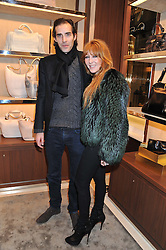 CHARLIE FORBES and CHARLOTTE TILBURY at the Salvatore Ferragamo Old Bond Street Boutique Store Launch on 5th December 2012.