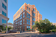 Architectural Photography of Rockville MD offce building One Church Street by Jeffrey Sauers of Commercial Photographics