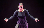 Eva Yerbabuena<br /> Flamenco Festival London <br /> at Sadler's Wells, London, Great Britain <br /> Press photocall<br /> 17th February 2017 <br /> <br /> Eva Yerbabuena<br /> <br /> <br /> Photograph by Elliott Franks <br /> Image licensed to Elliott Franks Photography Services