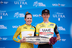 Anna van der Breggen (NED) wraps up the GC classification at Amgen Tour of California Women's Race empowered with SRAM 2019 - Stage 3, a 126 km road race from Santa Clarita to Pasedena, United States on May 18, 2019. Photo by Sean Robinson/velofocus.com