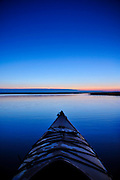 Sun rises along the calm back waters of the North Carolina coast offering views of deep blues and shades of purple. Photos By Jeff Janowski Photography