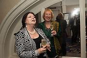 ALISON LAPPER; ANITA JOHANSSON, An evening of entertainment at St James Court in support of the redevelopment of St Fagans National History Museum. In the spirit of the court of Llywelyn the Great . St. James Court Hotel. London. 17 September 2015<br />  <br /> Noson o adloniant yn St James Court i gefnogi ail-ddatblygiad Sain Ffagan Amgueddfa Werin Cymru