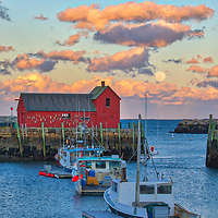New England photography of the famous red fishing shack Motif Number One in Rockport, MA on Cape Ann with a full moon rising was photographed on a cold night. The historic landmark is known throughout New England as Motif #1, so called because it is the most often painted building in America.<br /> <br /> New England photography image of the full snow moon rising over Rockport Harbor and Motif #1 is available as museum quality photography prints, canvas prints, acrylic prints, wood prints or metal prints. Prints may be framed and matted to the individual liking and decorating needs: <br /> <br /> https://juergen-roth.pixels.com/featured/full-moon-over-rockport-harbor-and-motif-number-one-juergen-roth.html<br /> <br /> Good light and happy photo making!<br /> <br /> My best,<br /> <br /> Juergen<br /> Photo Prints & Licensing: http://www.rothgalleries.com<br /> Photo Blog: http://whereintheworldisjuergen.blogspot.com<br /> Instagram: https://www.instagram.com/rothgalleries<br /> Twitter: https://twitter.com/naturefineart<br /> Facebook: https://www.facebook.com/naturefineart