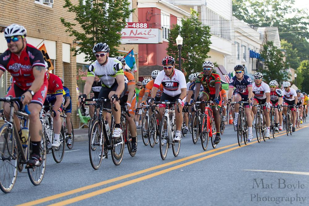 2012 June 9: Pitman, NJ:  Third annual Bob Riccio Tour De Pitman - 4 & 5 race. (photo / Mat Boyle)