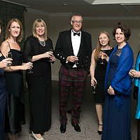 Perthshire Chamber of Commerce Business Star Awards 2017…Crieff Hydro Hotel<br />From left, Lesley Mearns, Debbie Dewar, Debbie Fellows, Bruce Renfrew, Zoe Cormack, Janice Napier and Avril Baird;<br />Picture by Graeme Hart. <br />Copyright Perthshire Picture Agency<br />Tel: 01738 623350  Mobile: 07990 594431