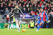 Chelsea's Cesc Fàbregas makes a pass during the Barclays Premier League match between Crystal Palace and Chelsea at Selhurst Park, London, England on 3 January 2016. Photo by Shane Healey.