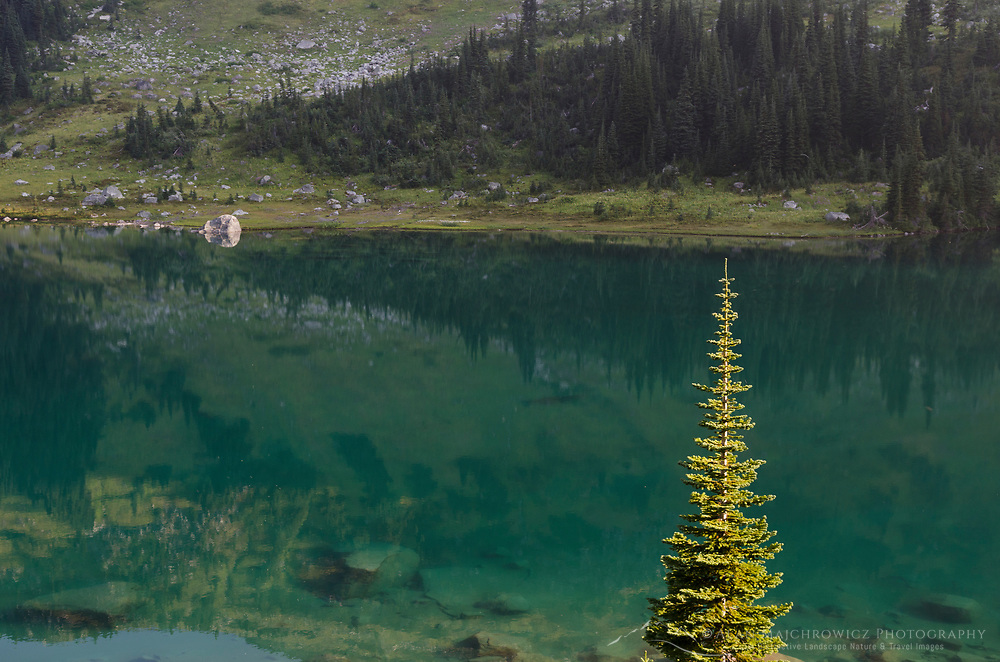 Lower Marriott Lake, Coast Mountains British Columbia