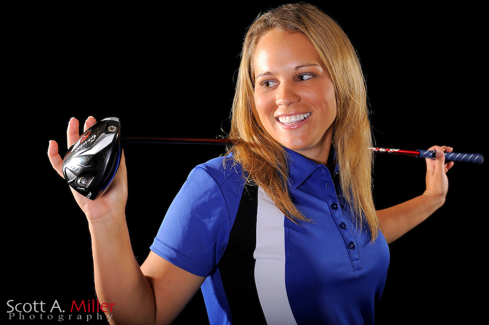 Whitney Wade during a portrait shoot prior to the LPGA Futures Tour's Daytona Beach Invitational at LPGA International's Championship Courser on March 29, 2011 in Daytona Beach, Florida... ©2011 Scott A. Miller
