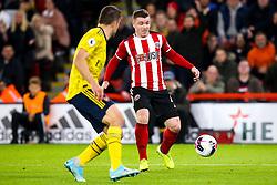 John Fleck of Sheffield United - Mandatory by-line: Robbie Stephenson/JMP - 21/10/2019 - FOOTBALL - Bramall Lane - Sheffield, England - Sheffield United v Arsenal - Premier League