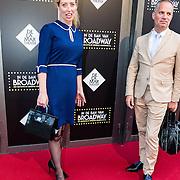 NLD/Amsterdam/20150604 - Premiere In de Ban van Broadway, Plien van Bennekom en ..............