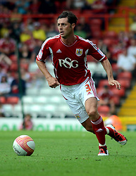 Bristol City's Jamie McAllister - Photo mandatory by-line: Joseph Meredith / JMPUK - 30/07/2011 - SPORT - FOOTBALL - Championship - Bristol City v West Bromwich Albion - Ashton Gate Stadium, Bristol, England