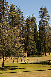 Golf Course, Twain Harte; California, USA.  Photo copyright Lee Foster.  Photo # california121401