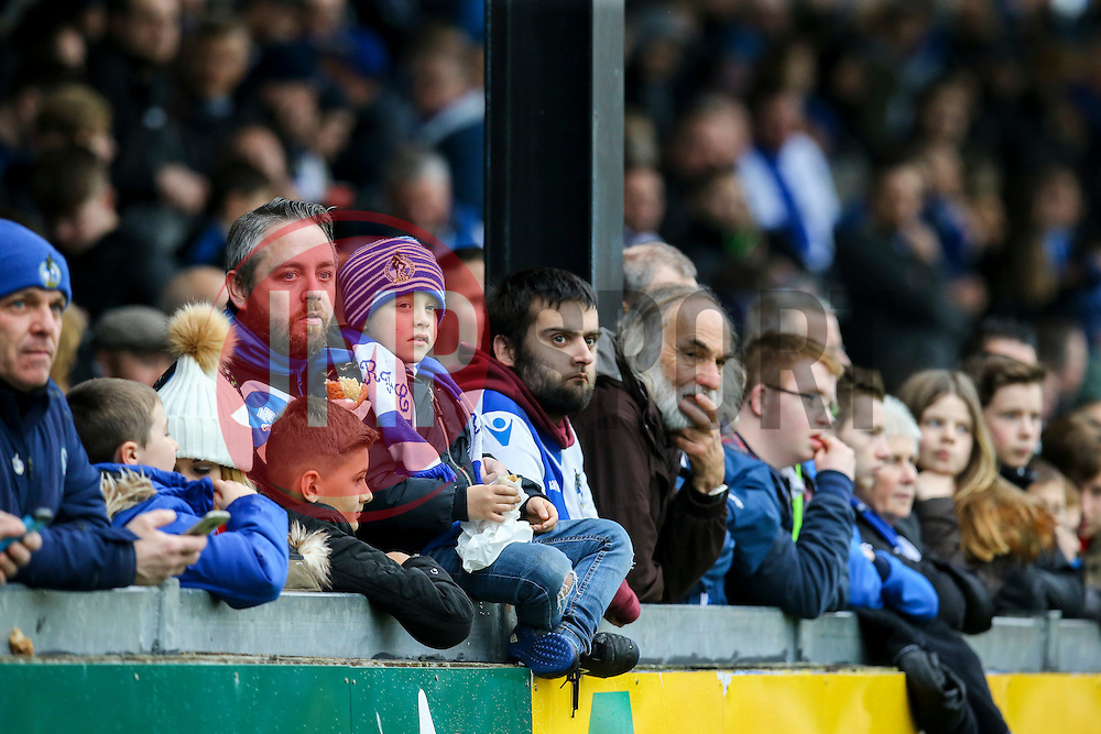 Bristol Rovers fans - Mandatory by-line: Jason Brown/JMP - 07/01/2017 - FOOTBALL - Memorial Stadium - Bristol, England - Bristol Rovers v Northampton Town - Sky Bet League One