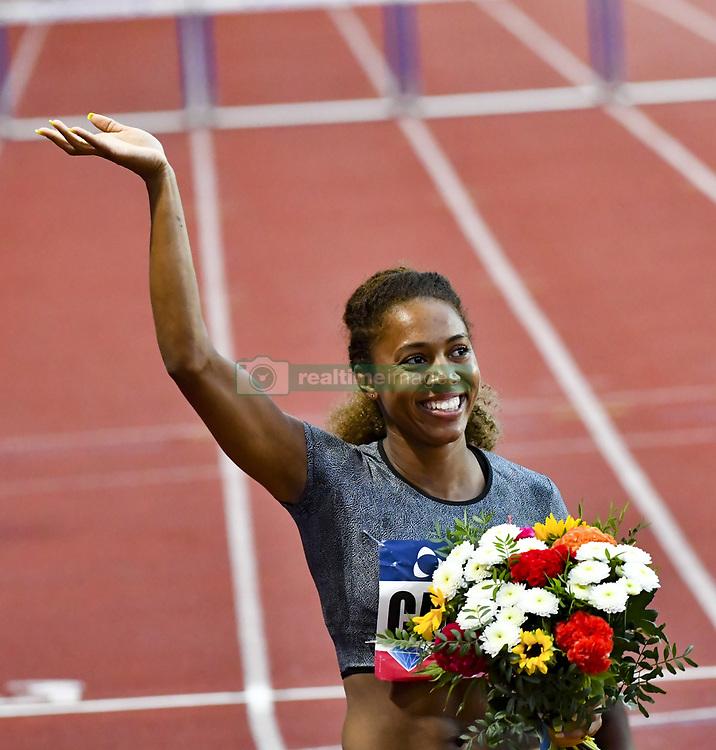 July 21, 2017 - France - Kori Carter (USA) - 400m haies femmes (Credit Image: © Panoramic via ZUMA Press)