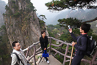 Chine, Province de Anhui, le parc national des Huangshan, patrimoine mondial de l'UNESCO. // China, Anhui province, national park of Huangshan mountain