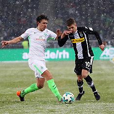 Borussia Moenchengladbach v SV Werder Bremen - 02 March 2018